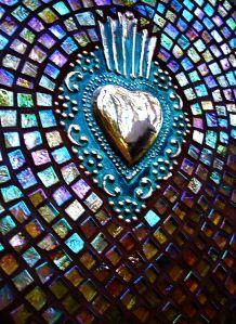 mosaic heart by Jane Kelly, JK Mosaics